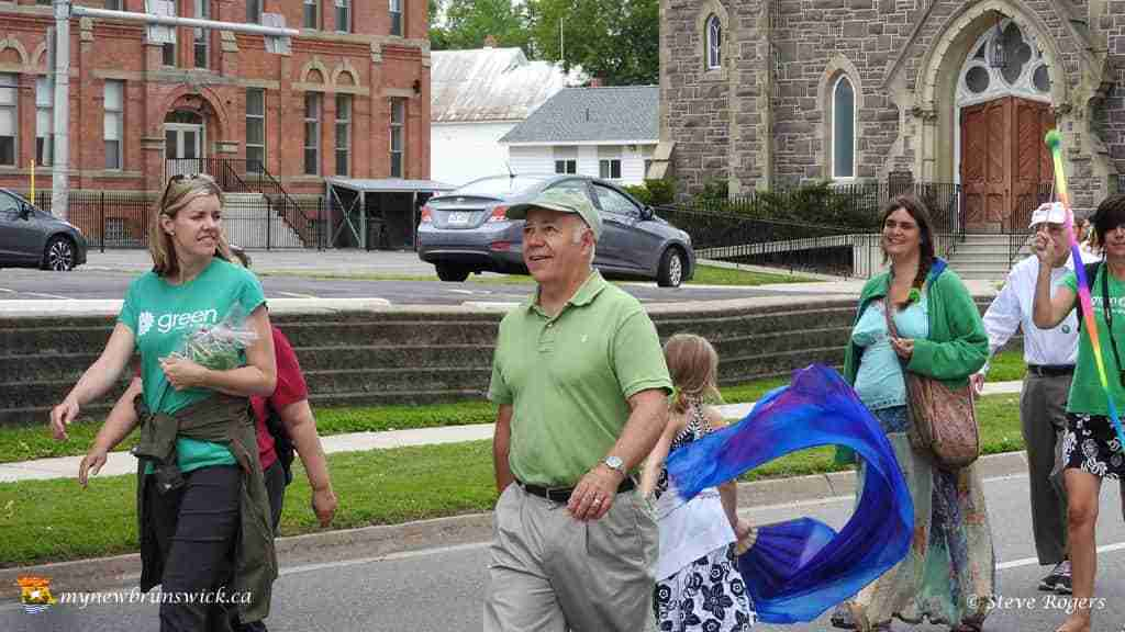 David Coon at Fredericton Pride 2015
