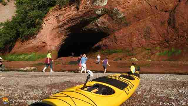 The Sea Caves, St. Martins, NB