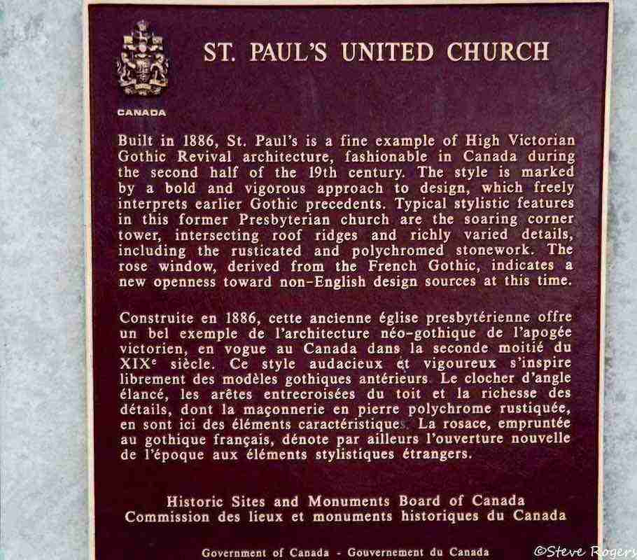 St. Paul's United Church Fredericton
