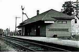 Bristol Shogomoc Railway Station