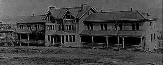 Hospital on Partridge Island