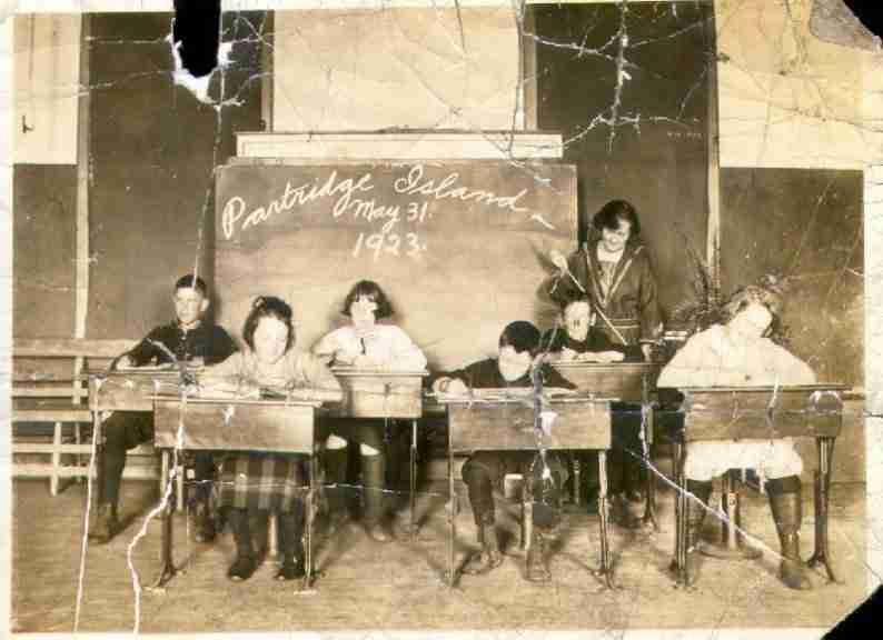 Partridge Island school 1923