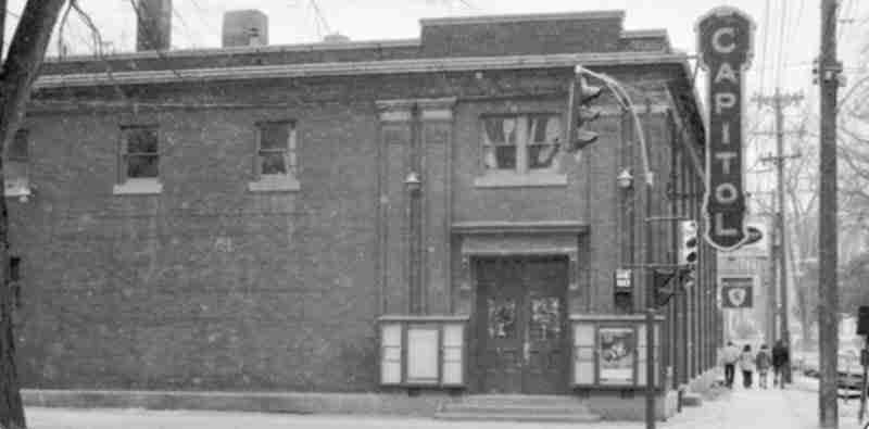 Capitol Theatre in Fredericton