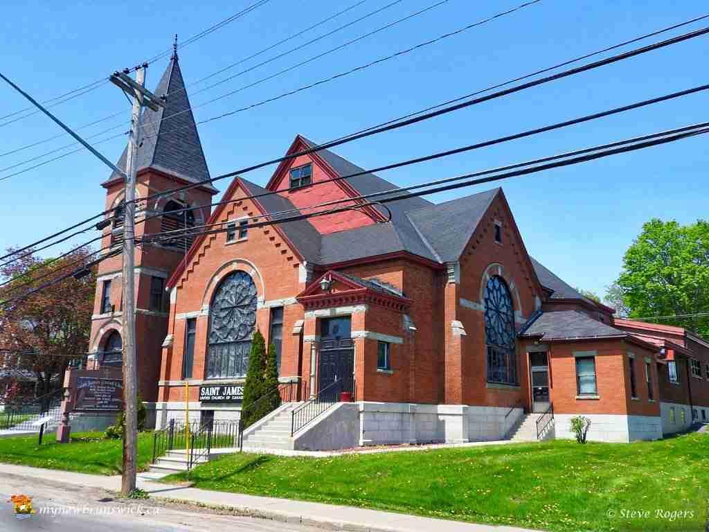 Saint James United Church Woodstock