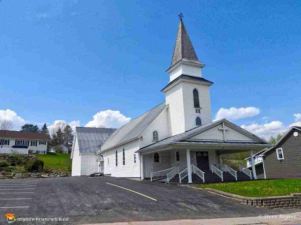 United Baptist Church, Plaster Rock, NB