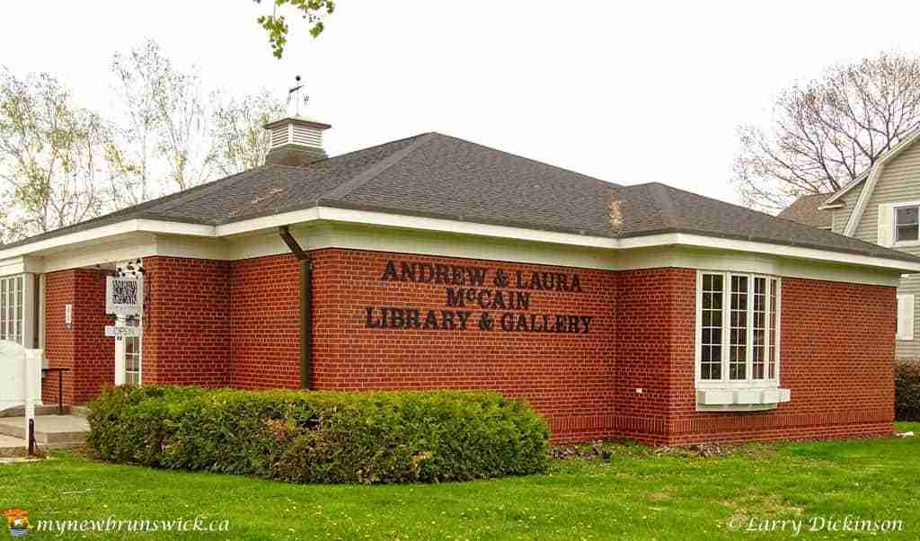 Andrew and Laura McCain Library & Gallery, Florenceville, NB