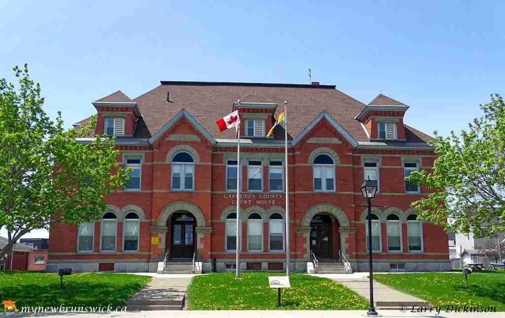 Carleton County Court House in Woodstock NB