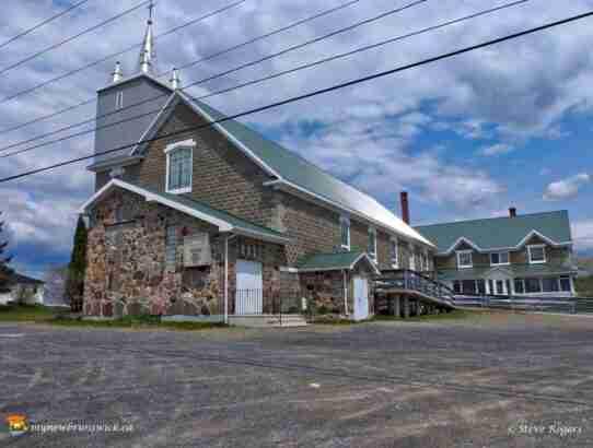 St. Patrick's Catholic Church Limestone Siding