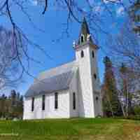 St. James United Church, Three Brooks, NB