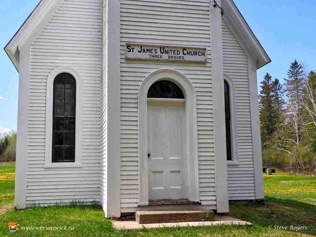St. James United Church, Three Brooks, NB