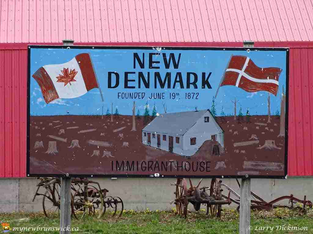 New Denmark Immigrant House