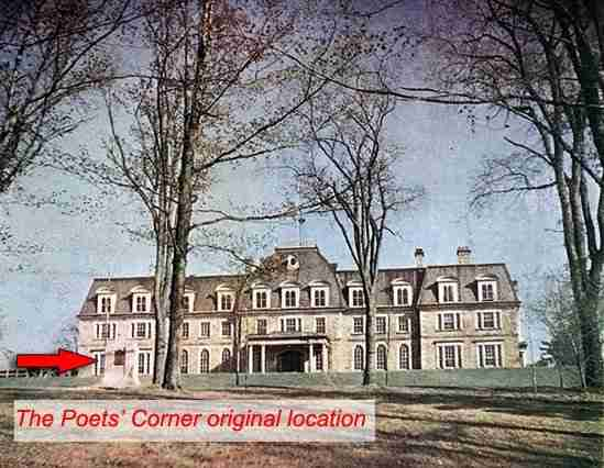 Sir Howard Douglas Hall UNB was the original location for Poets' Corner