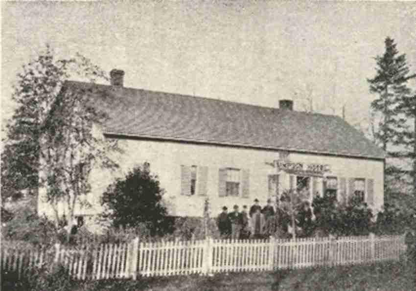 Sir Leonard Tilley house, Gagetown