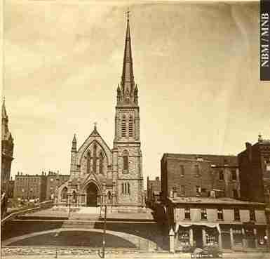 Trinity Anglican Church Saint John 1880