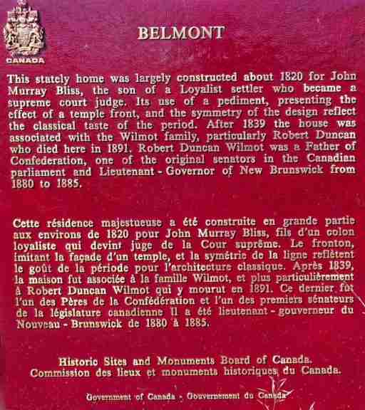 Belmont Plaque in Lincoln, NB