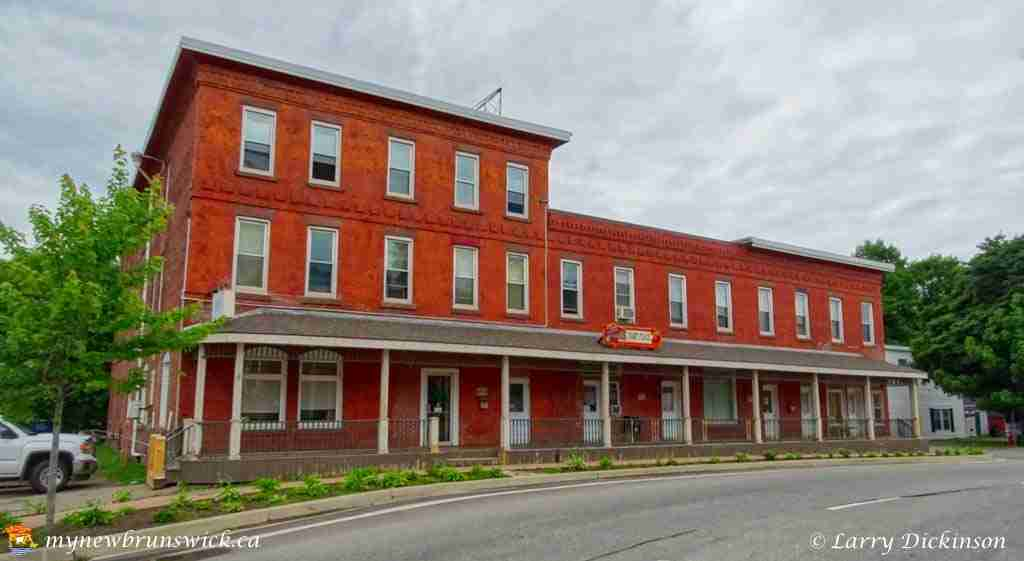 The former The Depot Hotel was built in the early 1900s, after the first Depot Hotel burnt in 1911.
