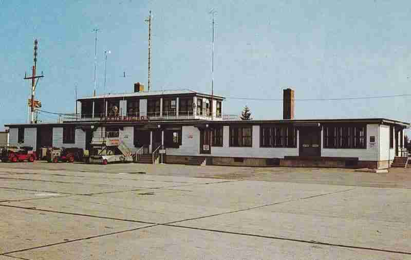 Fredericton Airport in the 60's