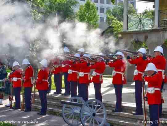 Fredericton Celebrates Canada's 150th Birthday Early