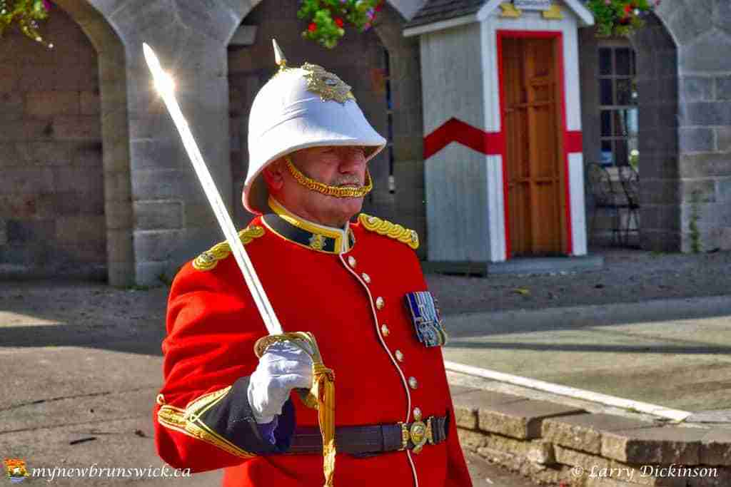 Fredericton Ceremonial Guard celebrates Canada's 150th Birthday