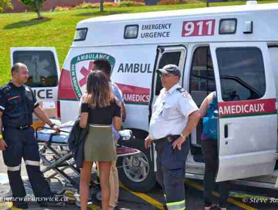 Ambulance NB at First Responders Open House Fredericton