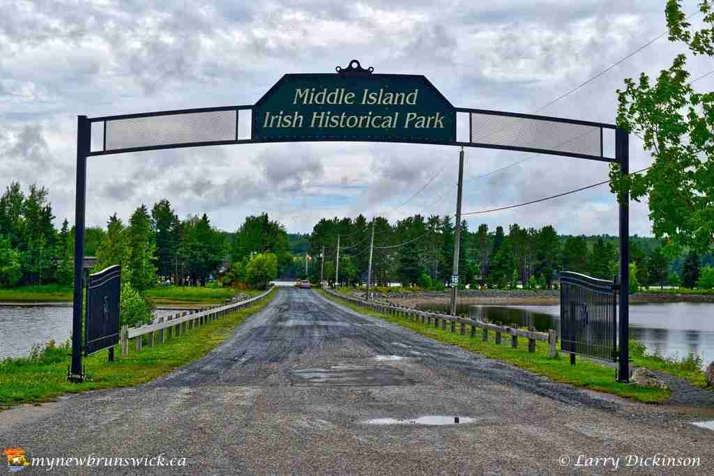 Middle Island Irish Historical Park, Miramichi, NB