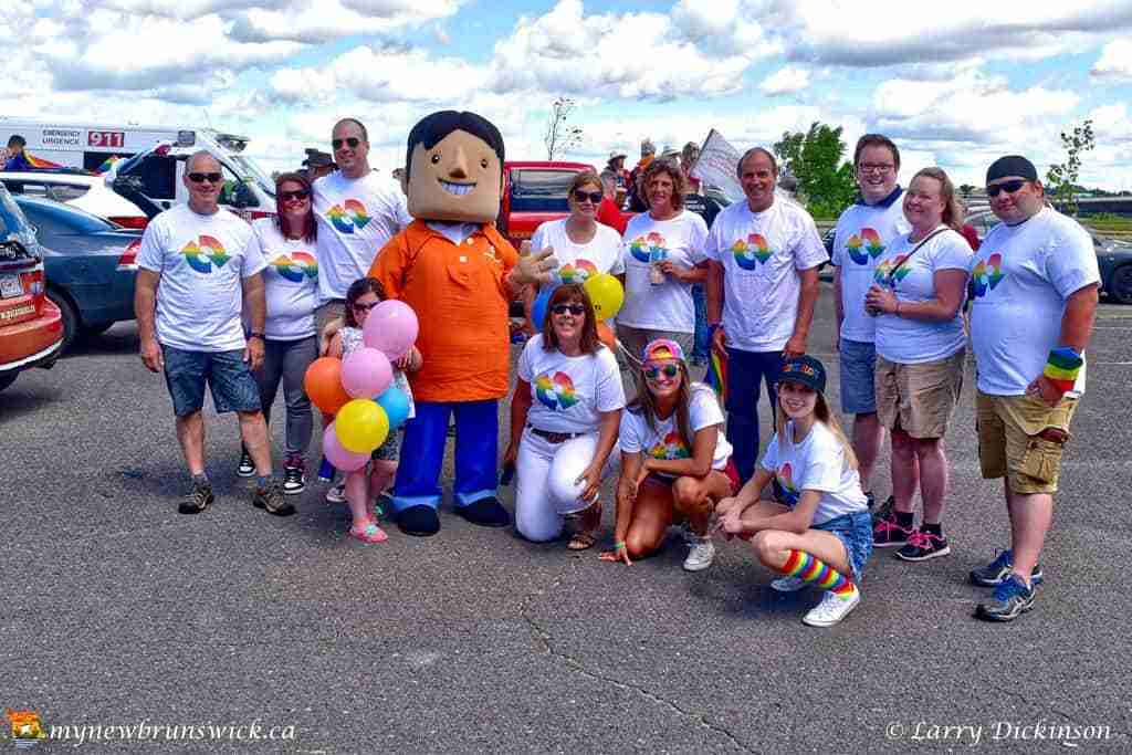 NB Power celebrates Fredericton Pride 2016