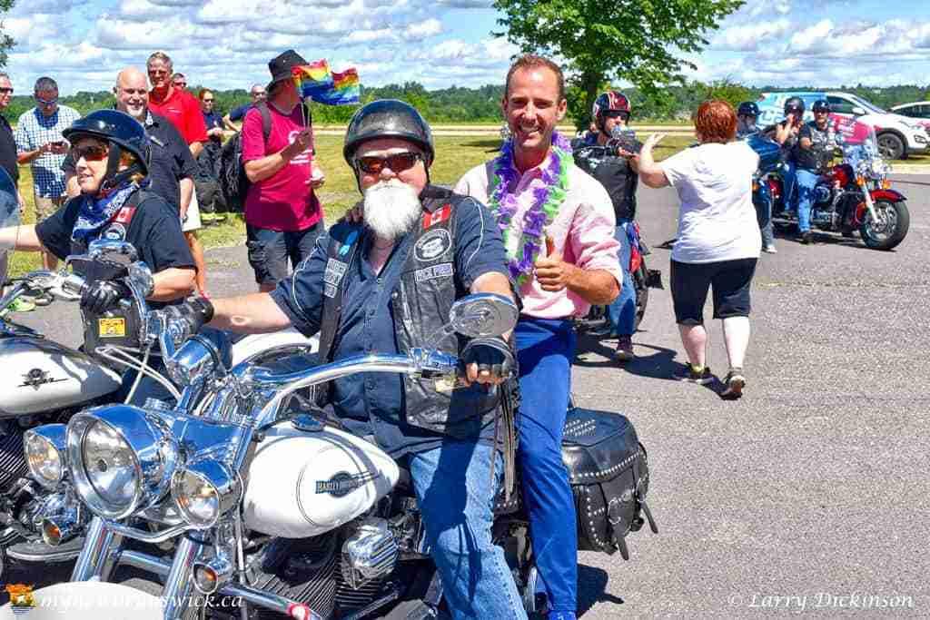 Fredericton MP Matt DeCourcey celebrates Fredericton Pride 2016