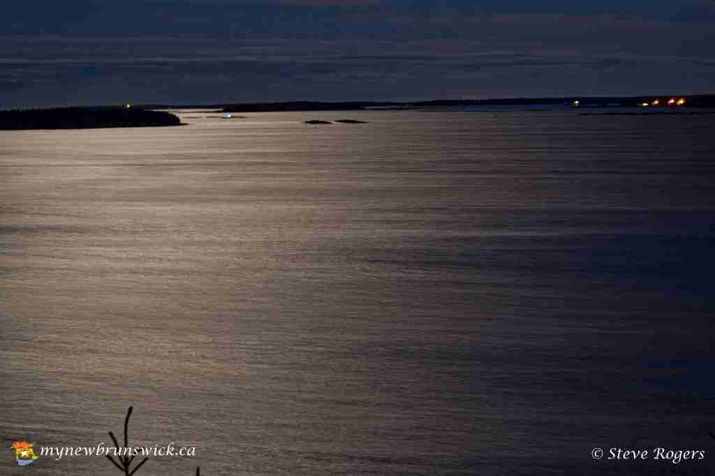 Moonlight on the Bay of Fundy on Grand Manan, NB