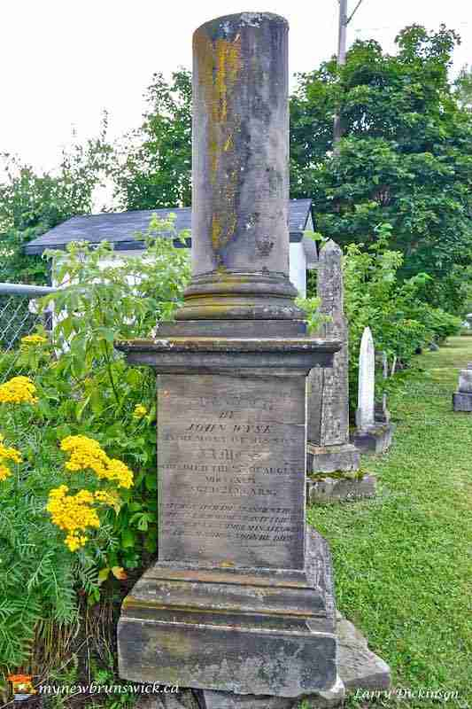 St. James and St. John United Church And Graveyard Miramichi