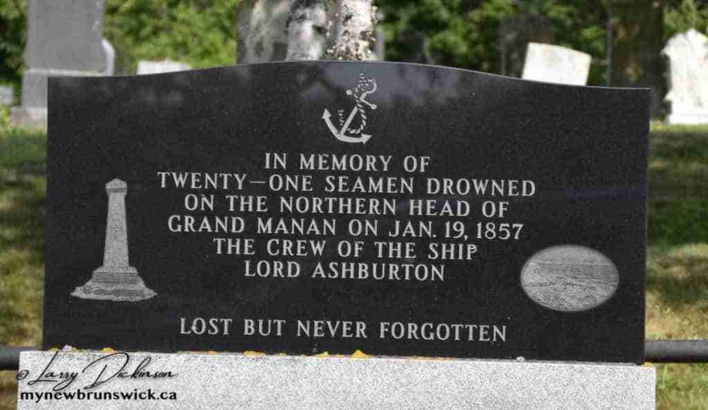 Seamens Monument, North Head, Grand Manan
