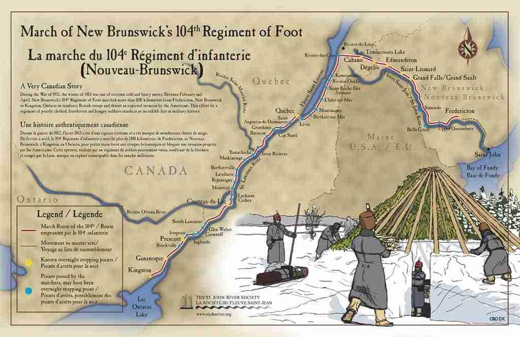 104th New Brunswick Regiment