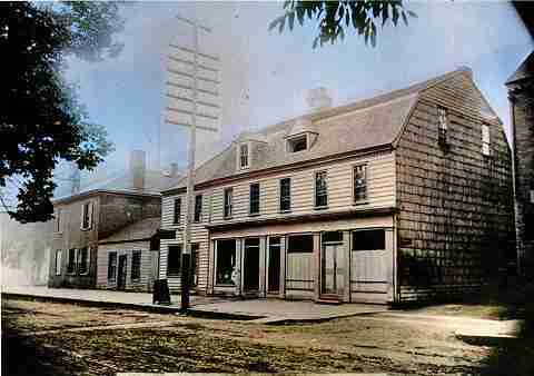 British-American Coffee House c1900
