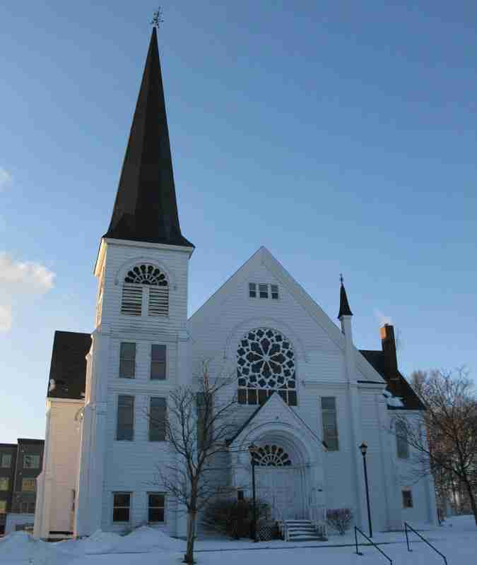 Sackville Methodist/United Church built in 1875