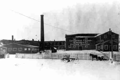 Enterprise Foundry prior to the 1908 fire
