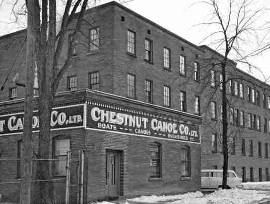Chestnut Canoe Factory