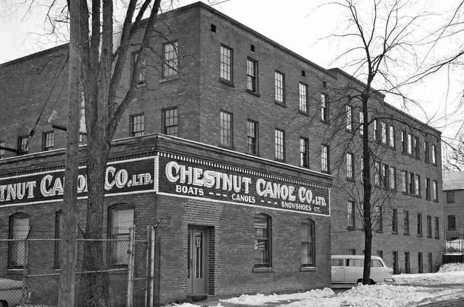 Chestnut Canoe Factory, Fredericton, NB