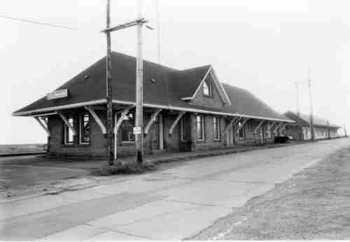 CNR Railway Station Sackville, NB