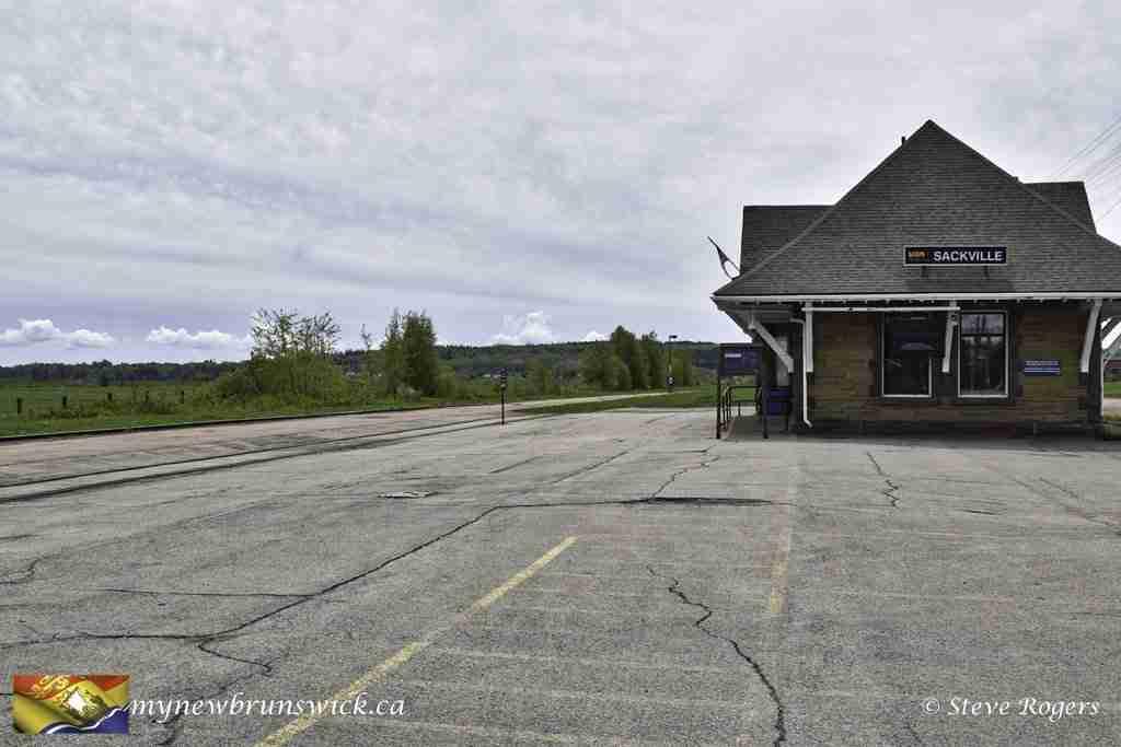 CNR Railway Station Sackville, NB