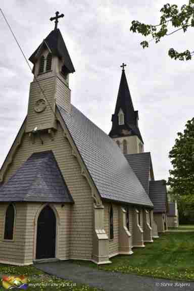 St. Paul's Anglican Church in Sackville NB