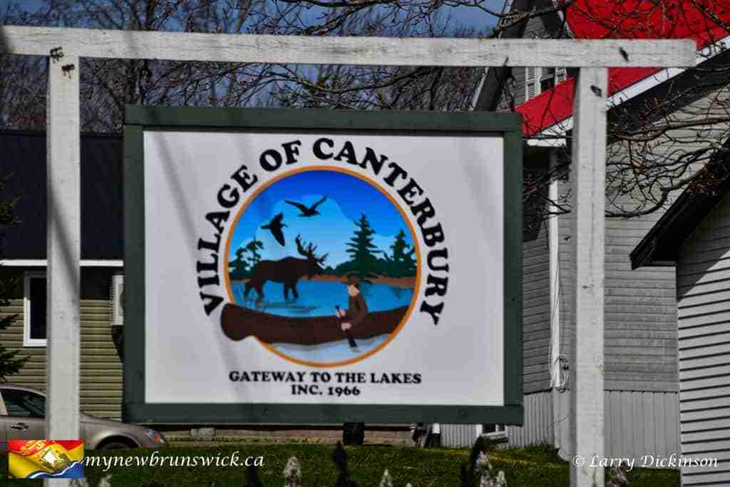 Village of Canterbury, NB