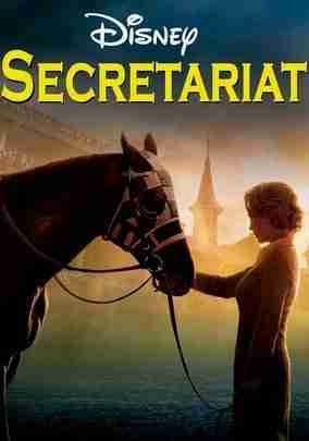 Movie poster from Disney's Secretariat