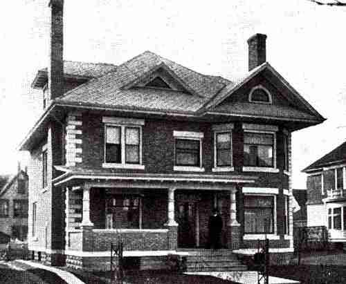 J.A. Marvin residence 1915