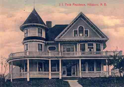 John Peck House, Hillsborough, NB