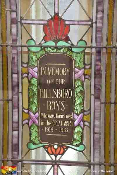 Hillsborough Boys Monument Peck Memorial Hall Hillsborough