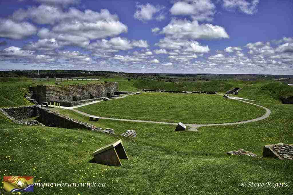 Remnants of Fort Beauséjour