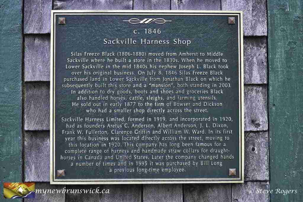 Sackville Harness Shop