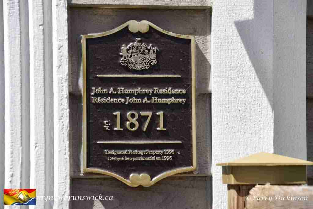 John A. Humphrey House - Moncton