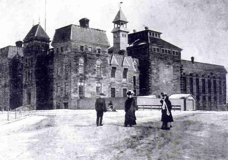Dorchester Penitentiary circa 1900