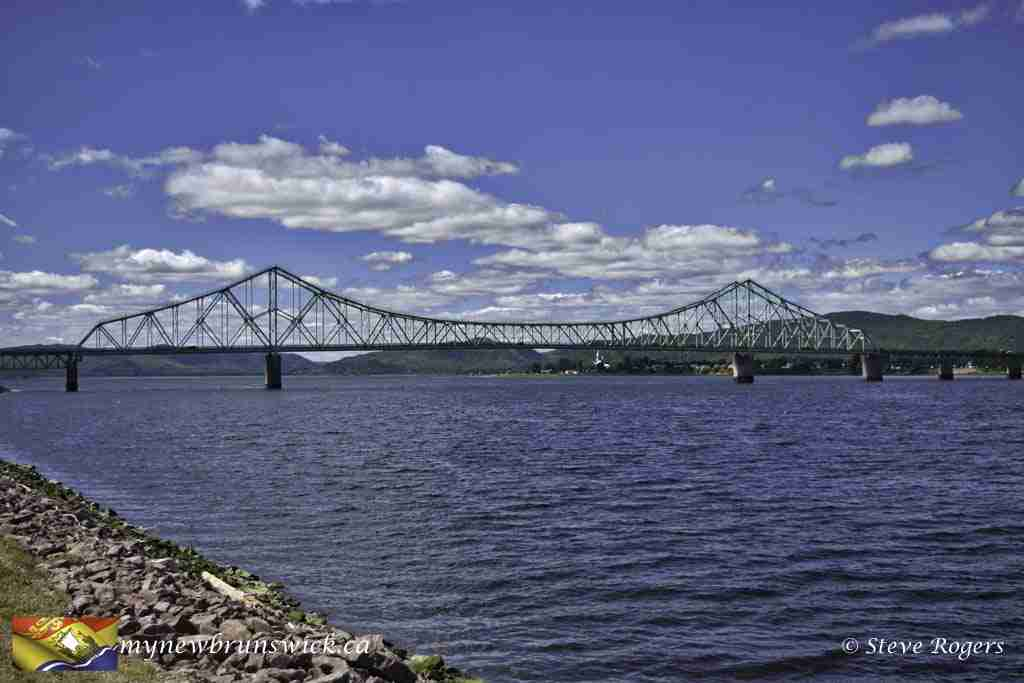 J.C. Van Horne Interprovincial Bridge, NB to Quebec