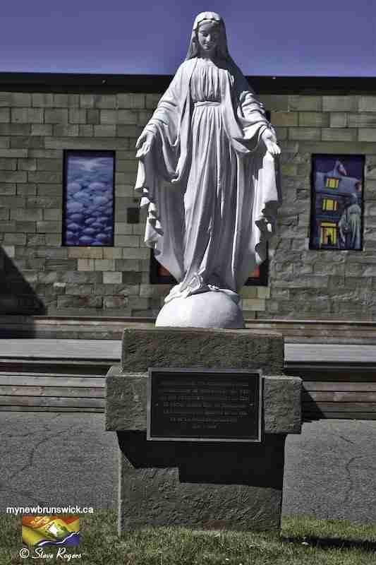 Virgin Mary Statue Caraquet NB
